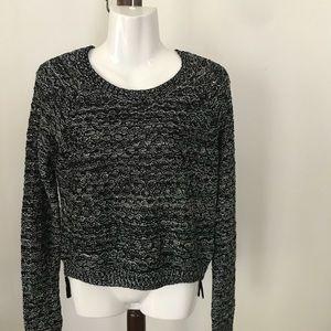 Aqua acrylic sweater size Medium